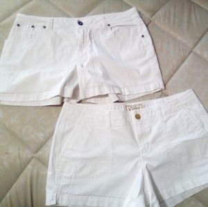 2 pairs of shorts size 12